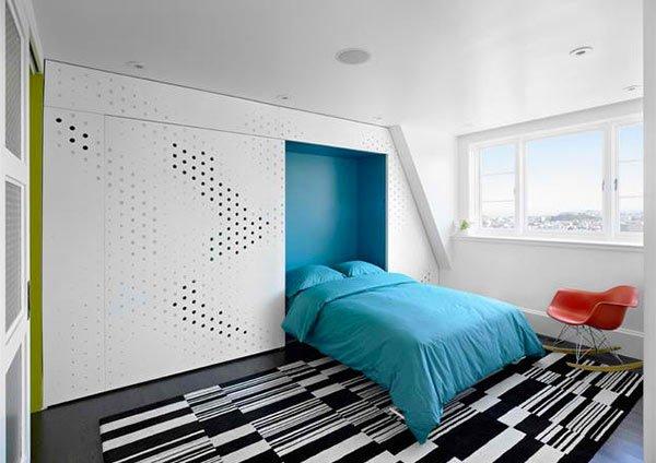 9- cama embutida